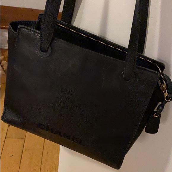 Chanel purse navy